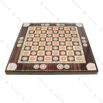 تخته نرد و صفحه شطرنج چوبی