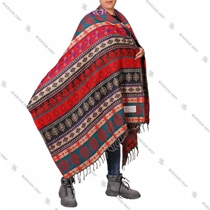 شال رودوشی و روانداز لباس