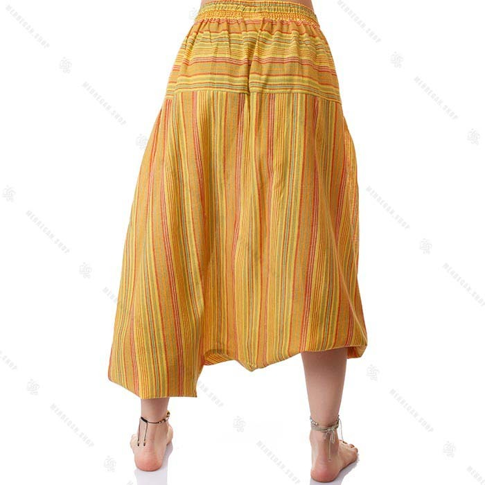 شلوار سنتی یوگا زرد لیمویی – Lemon Yellow Kurta Trouser