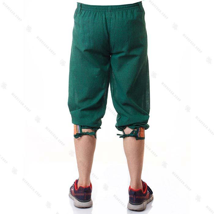 شلوار سنتی گلیمی سبز – Green Kilim Kurta Trouser