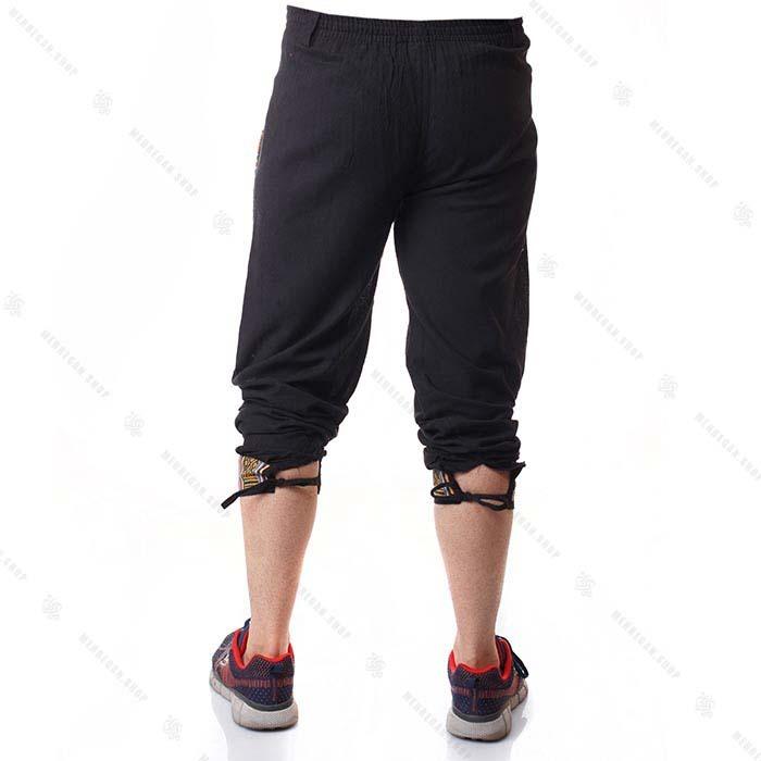 شلوار سنتی مشکی گلیمی – Black Kilim Trouser