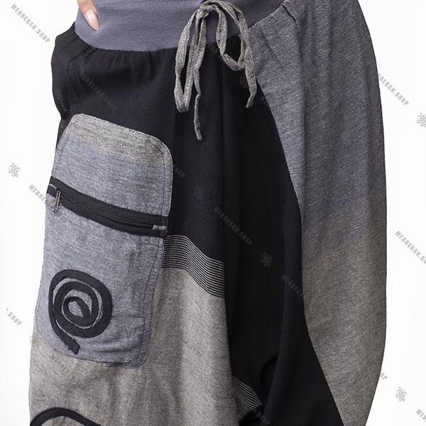 شلوار نپالی خنک فری سایز جیب دار