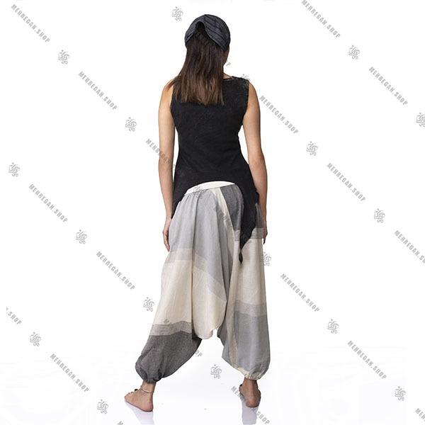شلوار نپالی فری سایز جیب دار
