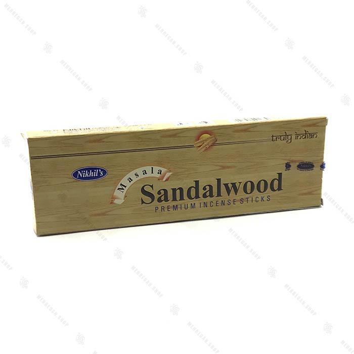 عود دست ساز هندی شیرین سبک Sandalwood