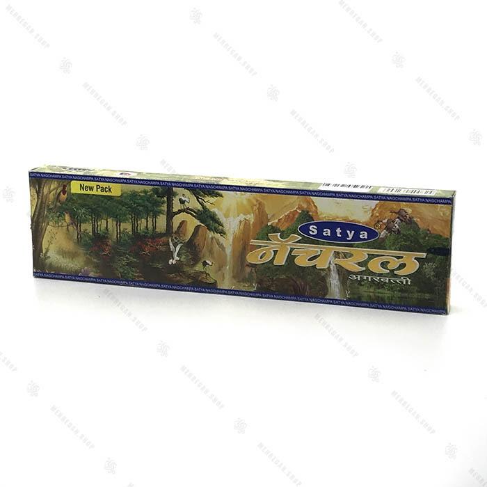 عود هندی دست ساز جنگل با رایحه درخت و گل Satya