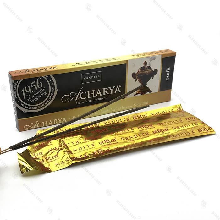 عود هندی دست ساز اچاریا تند و شیرین Acharya