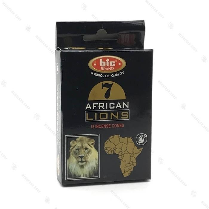 عود هندی دست ساز مخروطی با رایحه طبیعت آفریقا African Lions