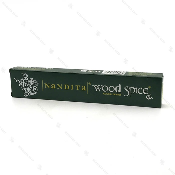 عود هندی دست ساز با رایحه چوب جنگلی Wood Spice