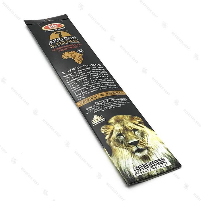 عود هندی دست ساز با رایحه طبیعت آفریقا African Lions