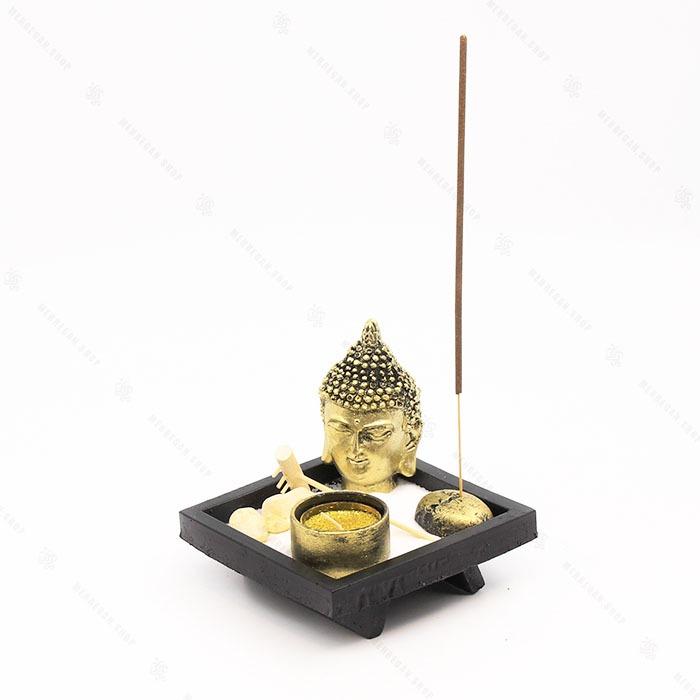 جاعودی و جاشمعی فنگ شویی طرح سر بودا