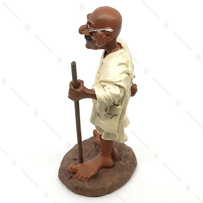 مجسمه دکوری رزین مهاتما گاندی