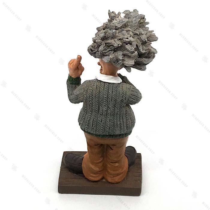 مجسمه دکوری رزین آلبرت اینشتین