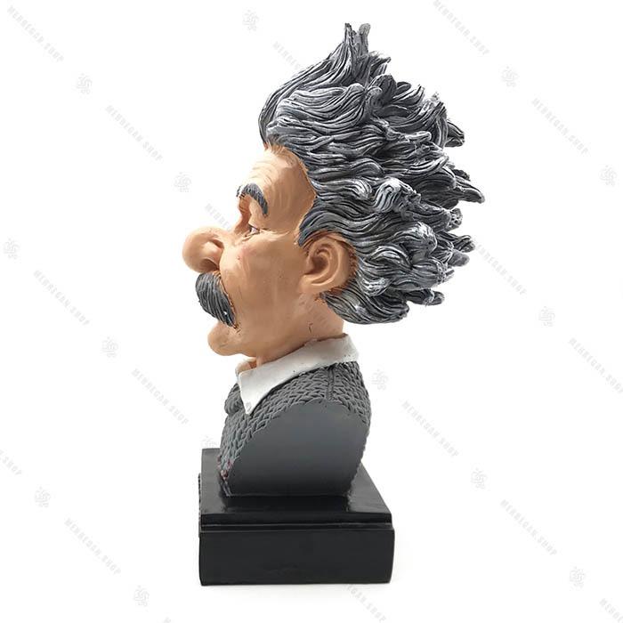 مجسمه دکوری رزین انیشتین