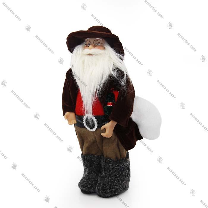 عروسک بابانوئل دکوری