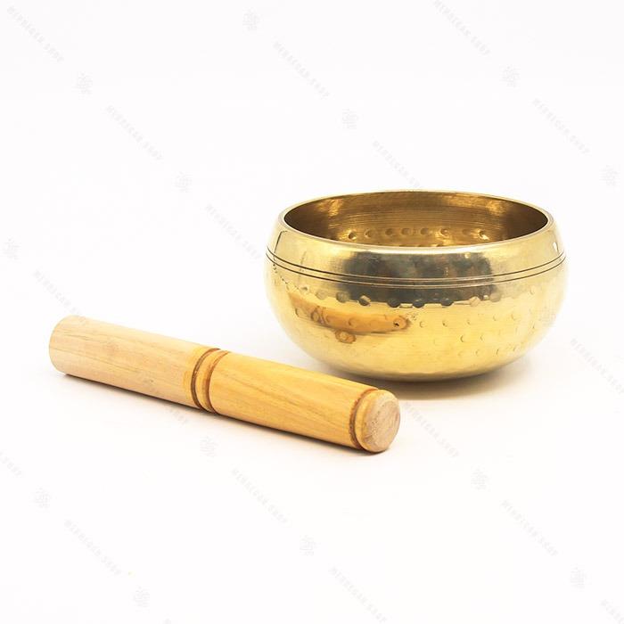 کاسه تبتی هندی طلایی