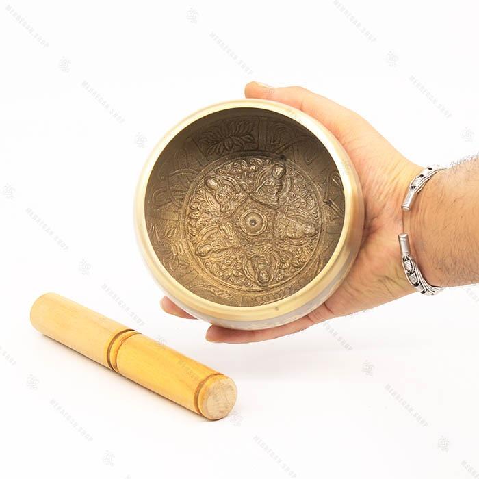کاسه تبتی هندی جنس برنجی