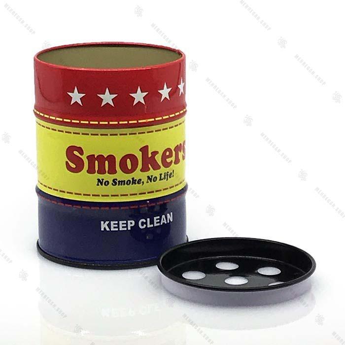 زیر سیگاری فلزی طرح دار – Metal Ashtray