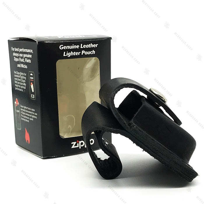 کیف چرم فندک زیپو Zippo