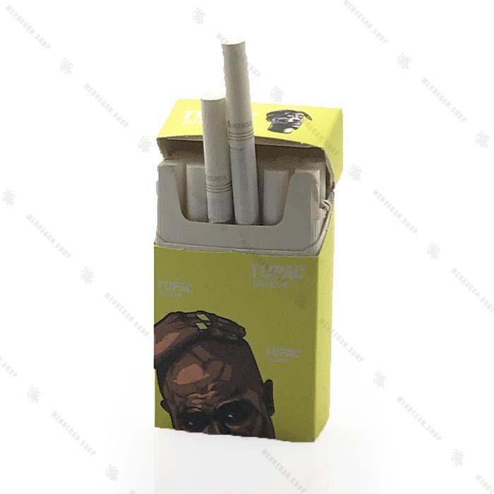 کاور پاکت سیگار طرح هیپ هاپ توپاک و امینم