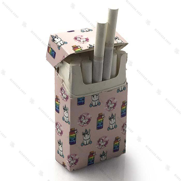 کاور پاکت سیگار دخترانه طرح یونیکورن