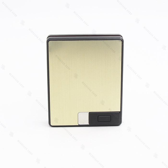 جعبه سیگار المنتی طلایی کد ۰۷۴۲۷۲