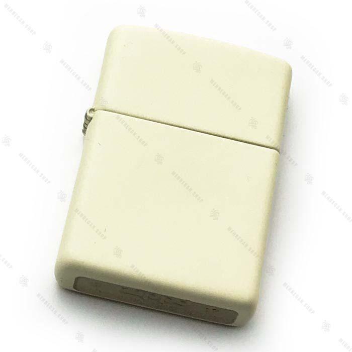 فندک اورجینال زیپو Zippo مدل White Matte