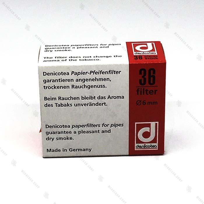 فیلتر پیپ کاغذی دنی ۶ میلی متر – Deni Paper Filter