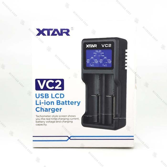 شارژر باتری اکستار – XTAR VC2 Battery Charger