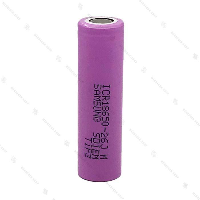باتری شارژی ۳.۷ ولت سامسونگ – ICR18650