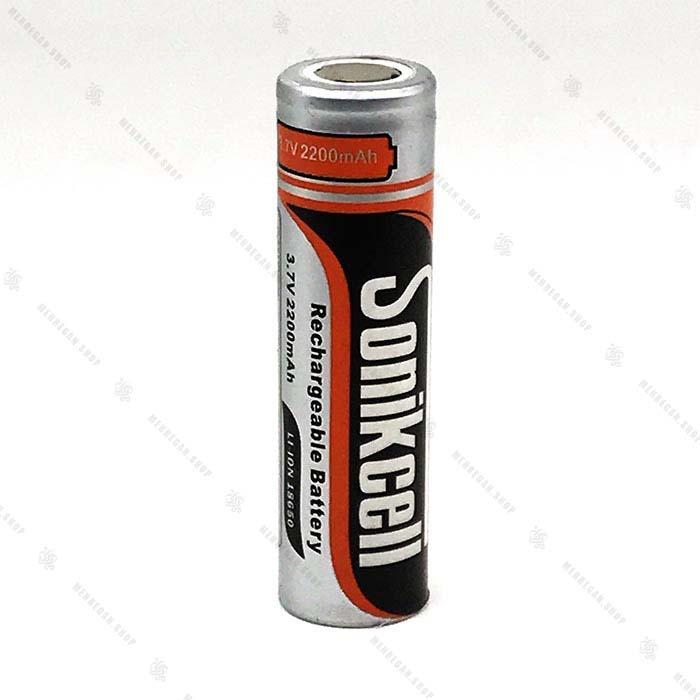 باتری شارژی سونیک سل ۳.۷ ولت – Sonikcell 18650