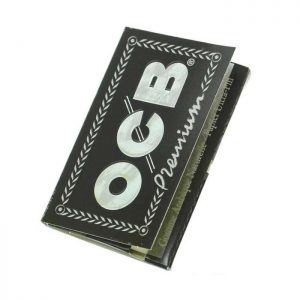 کاغذ (پیپر) سیگار پیچ OCB کوتاه مشکی
