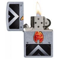فندک سیگار زیپو zippo insustrial flame
