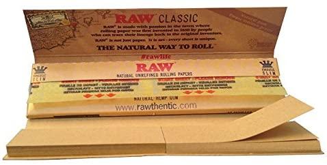 کاغذ سیگار بلند با فیله راو RAW مدل کلاسیک