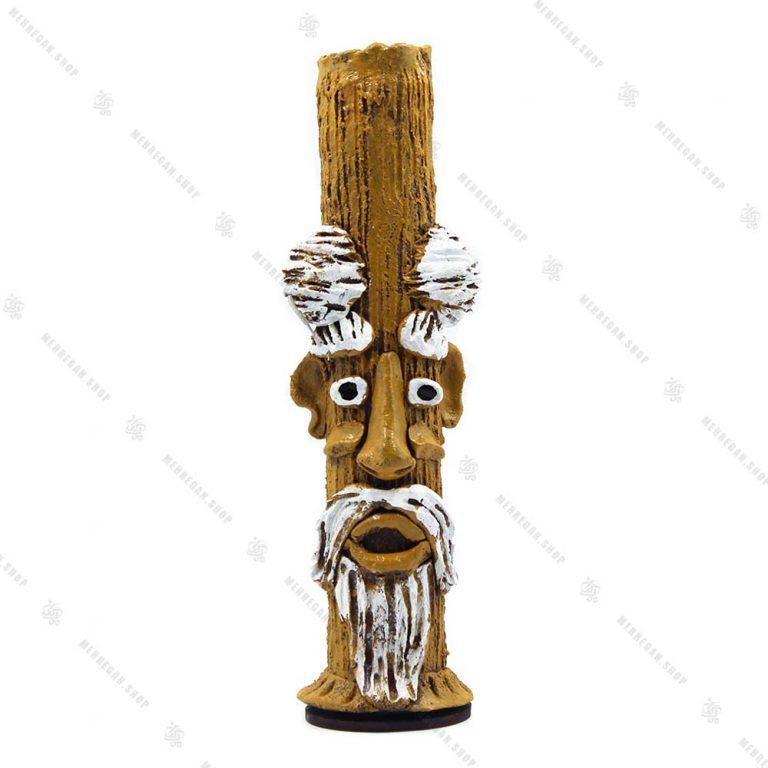جاعودی شاخه ای ایستاده پیرمرد ریش دار