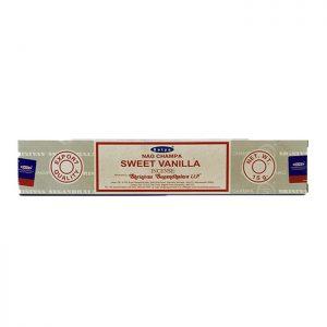 عود گرم و شیرین وانیلی با رایحه مشک Satya Sweet Vanilla