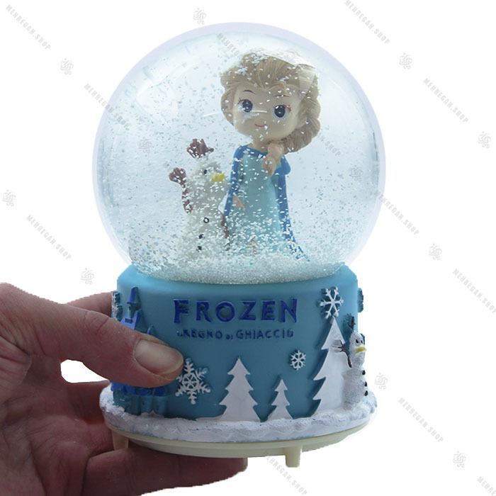 گوی برفی موزیکال فول طرح فروزن Frozen