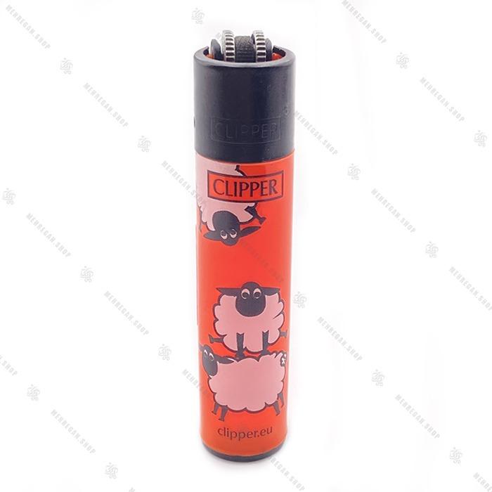 فندک کلیپر اصل طرح Sheep Fluo 4.4