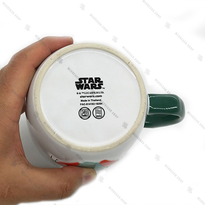 ماگ جنگ ستارگان طرح گریدو Star Wars Greedo