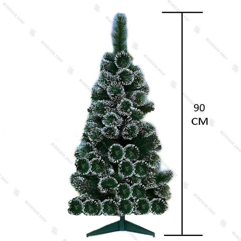 درخت کریسمس سوزنی برفی ۹۰ سانتی