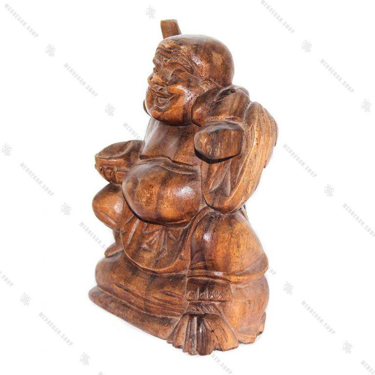 مجسمه چوبی هپی من قدرت