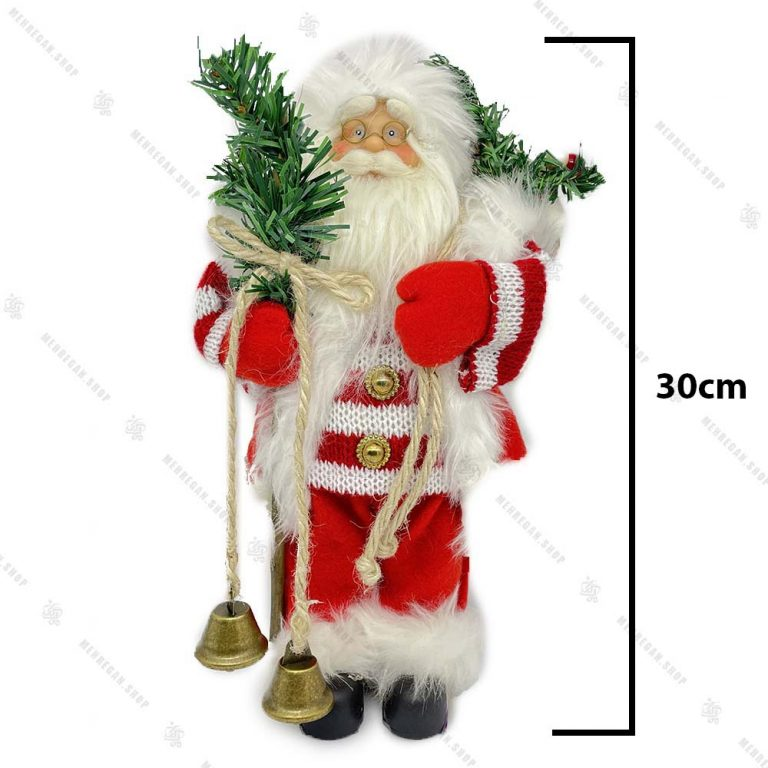عروسک بابانوئل مدل زنگوله دار