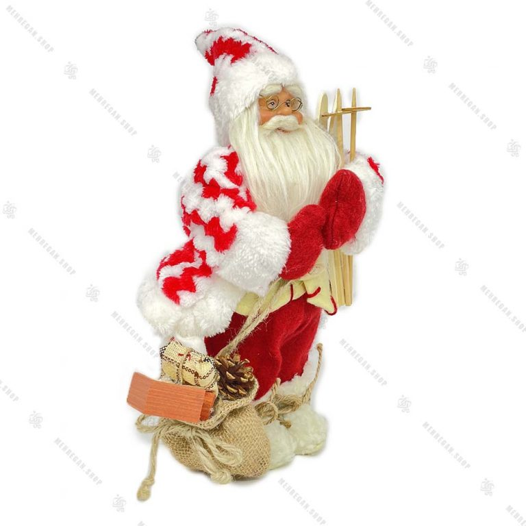 عروسک بابانوئل تزئینی