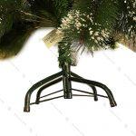 درخت کریسمس برفی مدل برگ سوزنی
