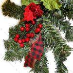 ریسه درختی مدل دیوارکوب قرمز