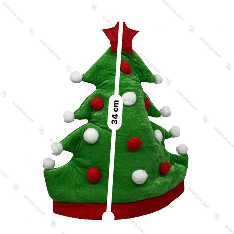 کلاه بابانوئل طرح درخت کاج