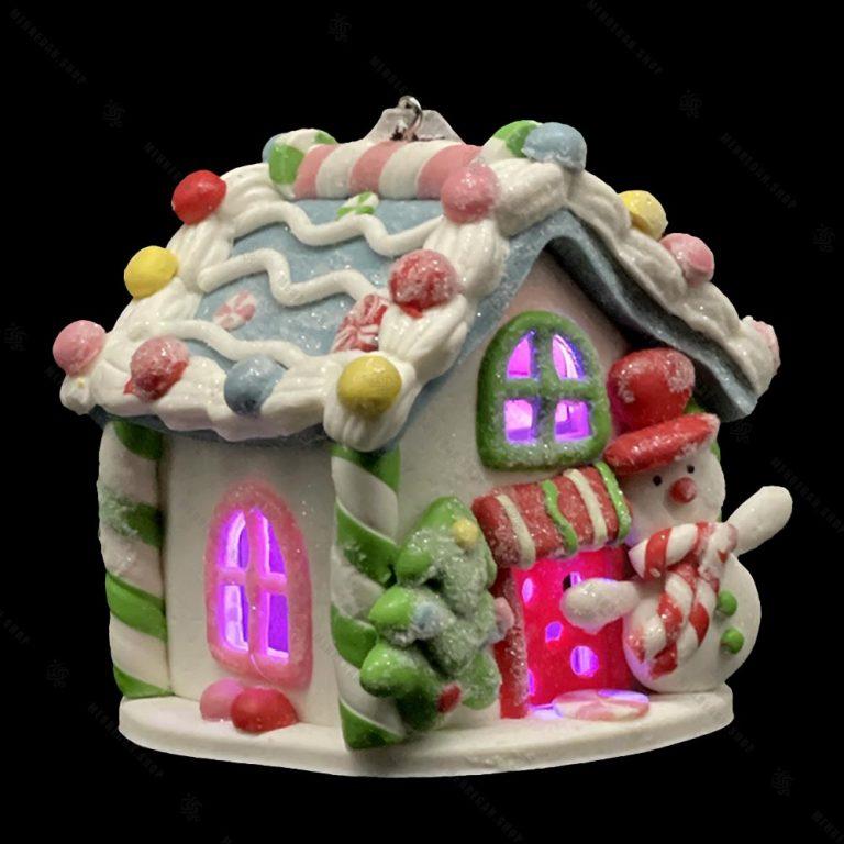 خانه کریسمسی آدم برفی