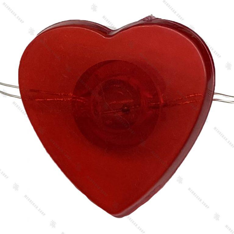 ریسه ال ای دی USB دار مدل قلب قرمز