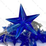 ریسه مفتولی مدل ستاره بزرگ آبی