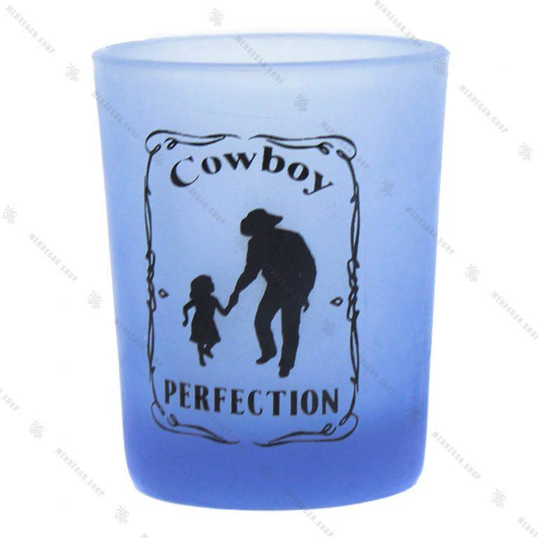 ست نوشیدنی ۶ عددی مدل Cowboy