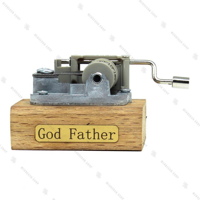 جعبه موزیکال مدل هندلی با ملودی پدرخوانده-God Father